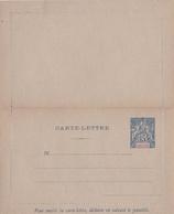 Entier Carte/lettre Neuf 15 C. - Indochine (1889-1945)