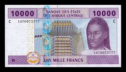Central African St. Chad 10000 Francs 2002 (2019) Pick 610Cd New Sign SC UNC - Chad