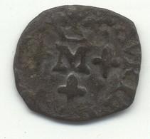 Liard Au M Couronné - Frédéric-Henri De Nassau  PRINCIPAUTÉ D'ORANGE - 476-1789 Monnaies Seigneuriales