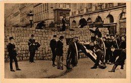 CPA PARIS (2e) Barricade. Rue De La Paix (564494) - Distretto: 02
