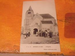 78 MESNIL LE ROI  TIMBREE ECRITE 1907 ANIMEE HOMMES HOTTES VENDANGEURS - Frankreich