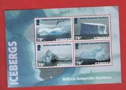 BD1 BAT Antarctique Britannique Bloc Iceberg 2019 ** / British Antarctic - Territoire Antarctique Britannique  (BAT)