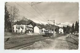 74 Verchaix Morillon La Gare Le Criou Le Grenairon Animée Train - Non Classés
