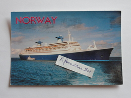 Paquebot NORWAY Ex FRANCE (V.cliché Recto-verso) - Piroscafi