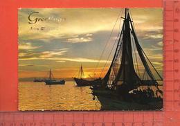 CPM  AUSTRALIE : Geelong, Greetings , Sunset - Geelong