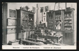 STAVELOT  ==  INSTITUT ST.REMACLE == CABINET DE PHYSIQUE - Stavelot