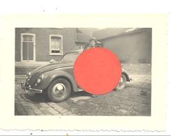 """Photo ( +/- 6 X 9 Cm) D'une Automobile VW """" Coccinelle""""  - Oldtimer (b271) - Cars"""