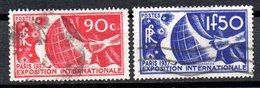 Serie  Nº 326/7 Francia - Francia