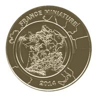 Monnaie De Paris , 2014 , Elancourt , France Miniature 2014 , La France à La Loupe - Monnaie De Paris