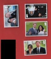 BD1 BAT Antarctique Britannique 2018** Mariage   / British Antarctic  Royal Wedding - Territoire Antarctique Britannique  (BAT)
