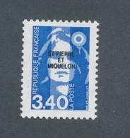 SAINT PIERRE ET MIQUELON - N° 555 NEUF** LUXE SANS CHARNIERE - 1992 - Neufs