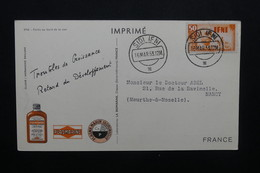 IFNI - Carte Publicitaire ( Biomarine De Dieppe ) Pour La France En 1953, Affranchissement Plaisant - L 48924 - Ifni