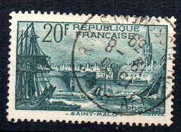 Sello  Nº 394  Francia - Francia