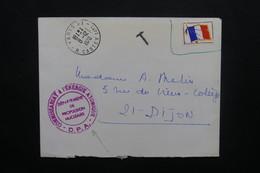 FRANCE - Enveloppe Du DPA ( Département  De Propulsion Nucléaire ) De Paris Pour Dijon En 1970 En FM - L 48927 - Marcophilie (Lettres)