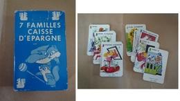 Jeu De 7 Familles Caisse D'Epargne - Group Games, Parlour Games