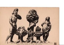 207. - Environs De Luchon. ST-BERTRAND-de-COMMINGES. Adam Et Eve Après Le Péché (XV° Siècle). LE LOT DE 2 CPA. - Saint Bertrand De Comminges