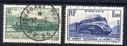 Serie Nº 339/40  Francia - Francia