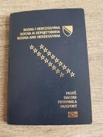 PASSPORT REISEPASS - Documenti Storici