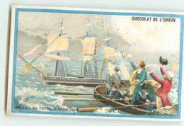 CHROMO / CHOCOLAT DE L'UNION - FREGATE DE PREMIER RANG 1825 - BATEAU  - LYON - Andere