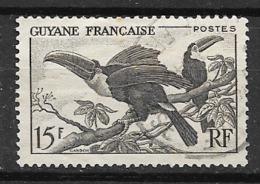 Guyane    N°  214  Oblitéré Voir Scan  Soldé    Le  Moins Cher Du Site ! ! ! - Used Stamps