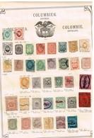Colombie + Provinces. Ancienne Collection. Old Collection. Altsammlung. Oude Verzameling - Postzegels