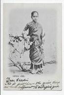 Hindu Girl - Undivided Back - India