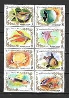 Ajman 1972 Tropical Fishes MNH - Fische
