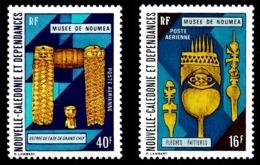 NOUV.-CALEDONIE 1973 - Yv. PA 142 Et 143 **   Cote= 8,70 EUR - Musée De Nouméa (2 Val.)  ..Réf.NCE24796 - Posta Aerea