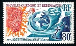 NOUV.-CALEDONIE 1973 - Yv. PA 140 **   Cote= 9,30 EUR - Journée De La Météorologie  ..Réf.NCE24791 - Posta Aerea
