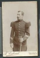 Photo Militaire Du 30è Regiment  ( Hussard ? ) 10, 5 X 16,3cm ) F. Gaboud 20 Rue Du Boeuf Annecy - Hte Savoie-  Lm20404 - Personnes Anonymes