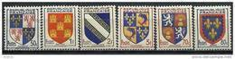"FR YT 951 à 954 958 959 "" Armoiries De Province "" 1953 Neuf** - 1941-66 Armoiries Et Blasons"