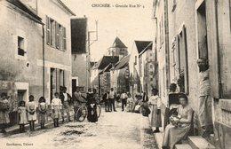 Chichée   -    Grande  Rue. - Autres Communes