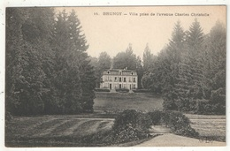 91 - BRUNOY - Villa Prise De L'avenue Charles Christofle - ELD 14 - Brunoy