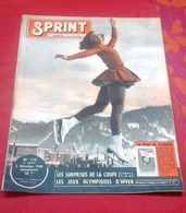 Sprint N°115 Février 1948 Jeux Olympiques D'Hiver St Moritz René Vietto Marcel Cerdan Yves Montand Maurice Chevalier - Books, Magazines, Comics