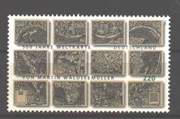 Germany MNH 2007 Weltkarte 1v. - [7] République Fédérale