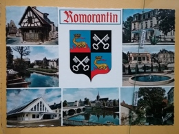 Kov 50-122- ROMORANTIN, EMBLEME, BLASON - Non Classés