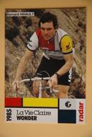 CYCLISME: CYCLISTE : BERNARD HINAULT - Cyclisme