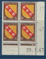 """FR Coins Datés YT 757 """" Armoiries Lorraine """" Neuf** Du 29.1.47 - 1940-1949"""