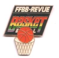A140 Pin's Media Journal FFBB REVUE Basket Basketball Achat Immediat - Medios De Comunicación
