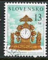 SLOVAKIA 2001 Antique Clock Used  Michel 385 - Usados