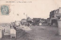 14 Luc Sur Mer, La Place Du Casino - Luc Sur Mer