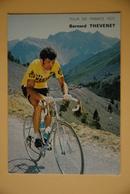 CYCLISME: CYCLISTE : BERNARD THEVENET - Cyclisme