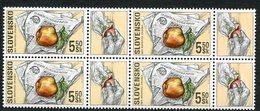SLOVAKIA 2000 Stamp Day Block Of 4 MNH / **  Michel 383 - Nuevos
