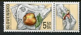 SLOVAKIA 2000 Stamp Day MNH / **  Michel 383 - Nuevos