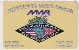 DIEGO GRCIA , DGA-R-08( 108 ) , MWR WELCOME TO DIEGO GARCIA , MINT , CN  00001 - Diego-Garcia