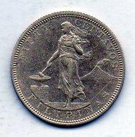 PHILIPPINES - UNITED STATES OF AMERICA, 50 Centavos, Silver, Year 1904, KM #167 - Filipinas