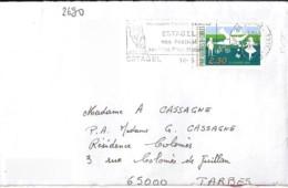 TP N°2690  SUR  LETTRE DE 1991/92 - Marcophilie (Lettres)