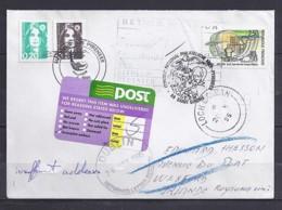 TP N° 2726 + DIVERS  SUR LETTRE DE 1995 POUR L'IRLANDE + RETOUR - Marcophilie (Lettres)
