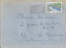 TP N°2764  SUR LETTRE DE 1992 - Marcophilie (Lettres)