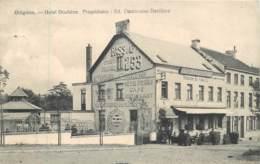 Belgique - Ottignies - Hôtel Duchêne - Bières BASS & Cie Stout Pale Ale 253 - Propriètaire Ed. Dambroise-Devillers - Ottignies-Louvain-la-Neuve